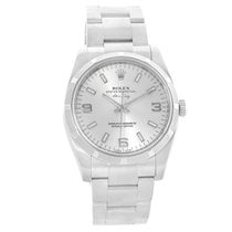 Rolex Oyster Perpetual Air King Silver Dial Steel Mens Watch...