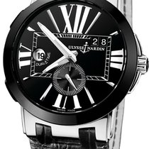 Ulysse Nardin Executive Dual Time 243-00/42 New Steel 43mm Automatic