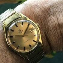 Omega vintage 1970 GENEVE Automatic ref 166.041 gold plated 20...