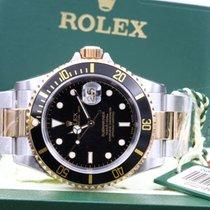 Rolex Submariner Date 16613 NOS With Plastics Box & Paper