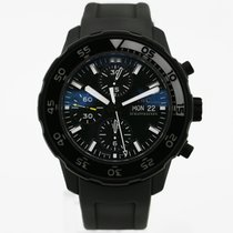 IWC Aquatimer Chronograph Steel 44mm Black No numerals United States of America, New York, New York