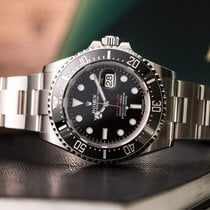 Rolex Sea-Dweller - 126600 - Red - June 2018 -  FULL SET