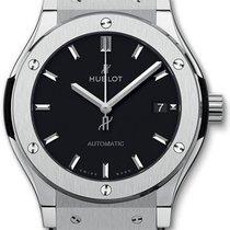 Hublot Classic Fusion 45, 42, 38, 33 mm Titanium 42mm Black No numerals