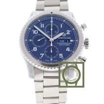 Breitling Navitimer 8 Chronograph Day Date 43 mm Blue Dial...