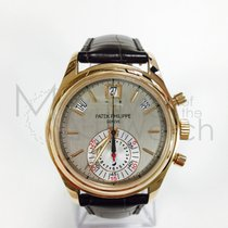 Patek Philippe Annual Calendar Chronograph Roségoud 40.5mm Zwart