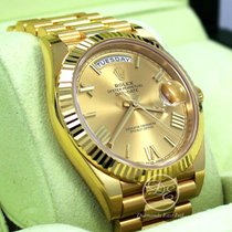 Rolex Day-Date 40 Yellow gold 40mm Champagne Roman numerals United States of America, Florida, Boca Raton
