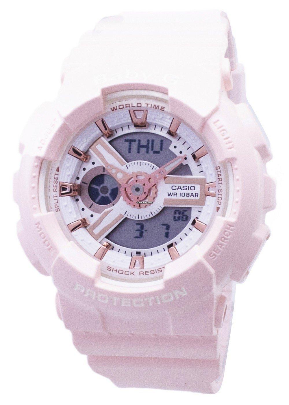 3bd7a423c2db Casio Baby-G BA-110RG-4A BA110RG-4A Analog Digital Women s Watch en venta  por MX  2