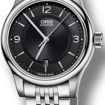 Oris Classic Steel 42mm Black United States of America, New York, New York