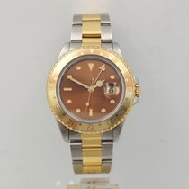 Rolex GMT-Master II Gold/Steel 40mm Brown No numerals