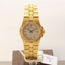 Vacheron Constantin Женские часы Overseas 24mm Кварцевые подержанные Часы с оригинальными документами и коробкой 2000
