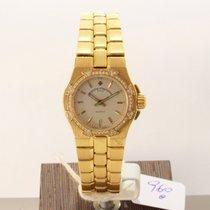 Vacheron Constantin Yellow gold Quartz Silver No numerals 24mm pre-owned Overseas