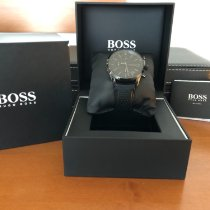 Hugo Boss Steel 44mm Quartz 1513478 pre-owned