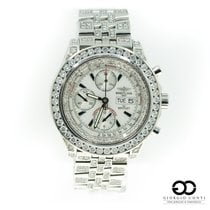 Breitling Bentley GT pre-owned 45mm White Chronograph Date Weekday Steel