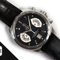TAG Heuer CAV511A Steel 2008 Grand Carrera 43mm pre-owned