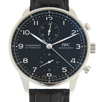 IWC Portuguese Automatic Steel 41mm Black