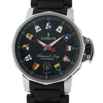 Corum Admiral's Cup (submodel) pre-owned 41mm Black Date Rubber