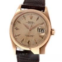 Rolex 6605 Or rose 1959 Datejust 36mm nouveau