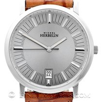 Michel Herbelin Classic Steel 37mm Silver