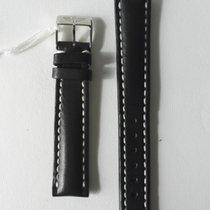 Breitling BLACK LEATHER STRAP 16MM