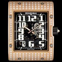 Richard Mille Skeleton Dial Extra Flat Diamond RM016 AH RG