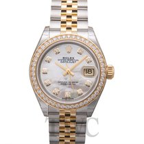 ロレックス (Rolex) Lady Datejust White MOP Steel/18k Yellow Gold...