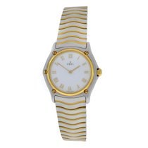 Ebel Authentic Ladies  Wave 181908 Steel Gold 26MM MOP Dial