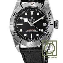Tudor Black Bay Steel Acier 41mm Noir Sans chiffres