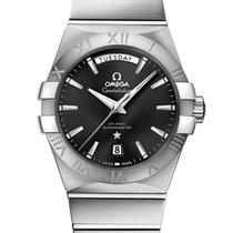 Omega Constellation Day-Date neu 2020 Automatik Uhr mit Original-Box und Original-Papieren 123.10.38.22.01.001