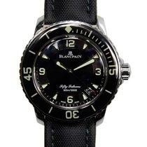 宝珀  Fifty Fathoms Stainless Steel Black Automatic 5015-1130-52B