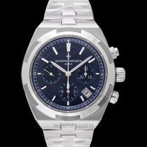 Vacheron Constantin Overseas Chronograph Steel 42.50mm Blue United States of America, California, San Mateo
