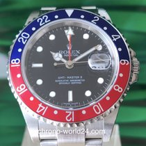Rolex GMT-Master II Ref. 16710 Pepsi LC100 Z4. Serie rectangular