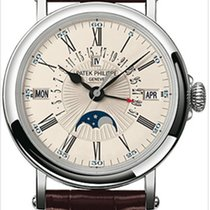 Patek Philippe Perpetual Calendar White gold 38mm White Roman numerals United States of America, California, Los Angeles