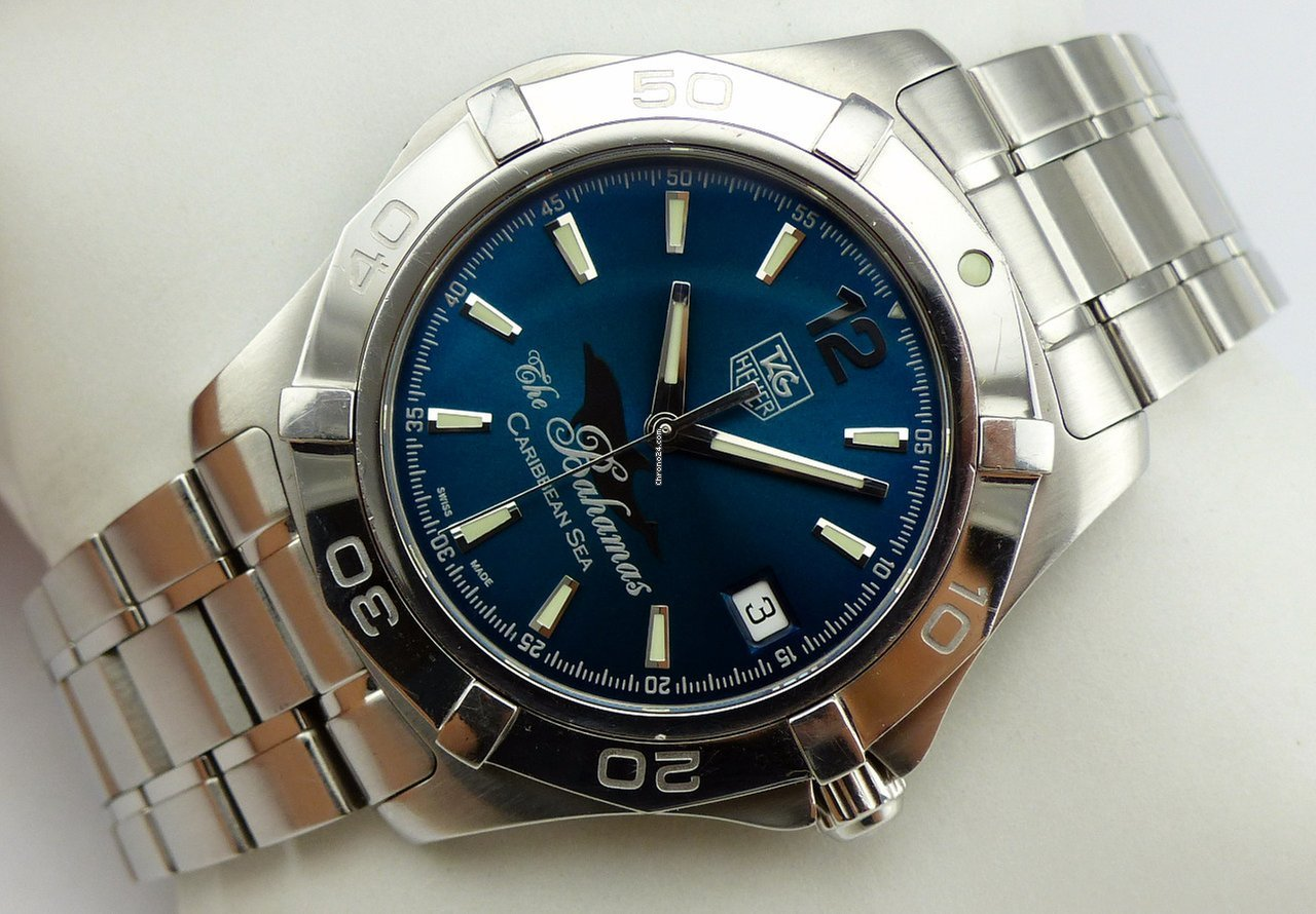 Tag Heuer Aquaracer Automatic Limited Edition Bahamas Waf211r