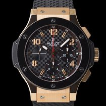 Hublot 44mm Automático usado Big Bang 44 mm Preto