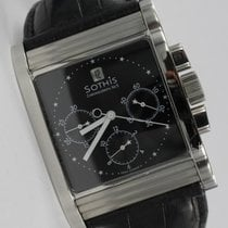 Sothis pre-owned Automatic 38mm Black Sapphire crystal