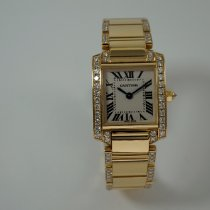 Cartier Tank Française Yellow gold 20mm White Roman numerals United States of America, Texas, Houston