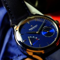Pequignet Rue Royale Steel 42mm Blue No numerals