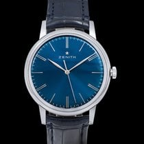 Zenith Elite 6150 Steel 42mm Blue United States of America, California, San Mateo