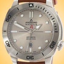 Anonimo new Automatic Luminescent Hands Rotating Bezel Screw-Down Crown 44.4mm Sapphire Glass