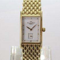 IWC Novecento Aur galben 23mm Alb Fara cifre