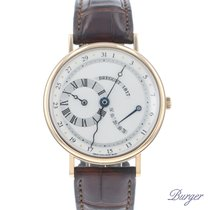 Breguet pre-owned Automatic 36mm Silver Sapphire crystal