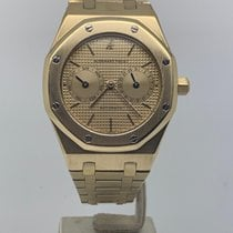 Audemars Piguet Royal Oak Day-Date Or jaune 37mm Champagne