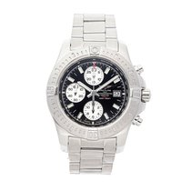 Breitling Colt Chronograph Automatic pre-owned 44mm Black Chronograph Date Tachymeter Fold clasp
