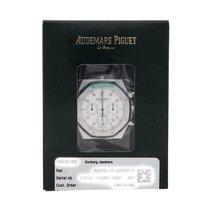 Audemars Piguet Royal Oak Chronograph Aur alb 39mm Argint