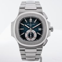 Patek Philippe Nautilus Steel 40.5mm Blue No numerals United States of America, Massachusetts, Boston