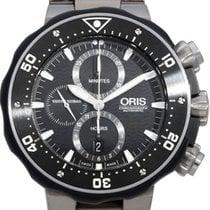 Oris ProDiver Chronograph pre-owned 50mm Titanium