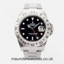 Rolex Explorer II Steel 40mm Black No numerals United Kingdom, Guildford,Surrey
