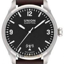 Union Glashütte Belisar Pilot Steel 41mm Black