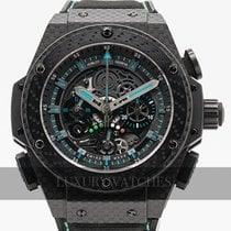 Hublot pre-owned Automatic 48mm Black Sapphire Glass 10 ATM