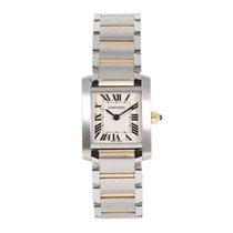 Cartier Tank Française Steel 20.5mm Champagne